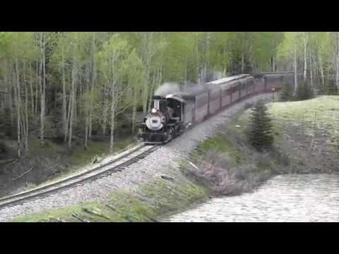 Cumbres & Toltec Railroad, Opening Weekend 2017 Double Headers! Part 2