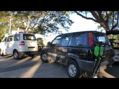 How Many Scooters Fit In A Small Car?! | Juicing In Australia