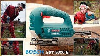 Лобзик BOSCH GST 8000 E - Обзор и Тест