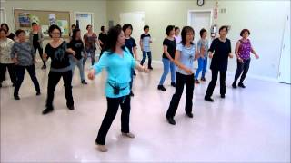 Open Hearted ~ Cheryl Sjolund - Line Dance (Walk thru & Danced)