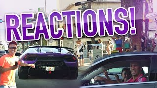 Reaction Video #23: Miami GOES Nuts for Huracan Performante