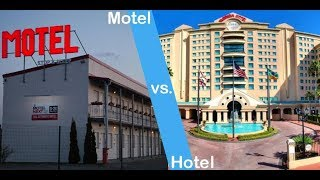 होटल और मोटल के बीच अंतर || Difference between Hotel And Motel in Hindi
