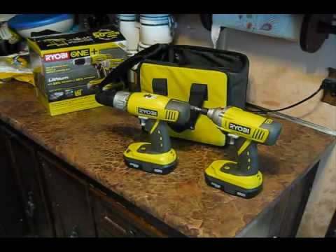 ryobi one drill impact driver set review doovi. Black Bedroom Furniture Sets. Home Design Ideas