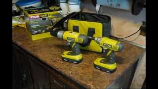 Ryobi Drill And Impact Driver Review