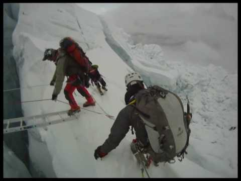 Mount Everest ICE FALL.wmv