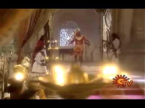 Lord Hanuman Apply Senthuram in his body (tamil)