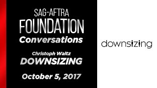 Conversations with Christoph Waltz of DOWNSIZING