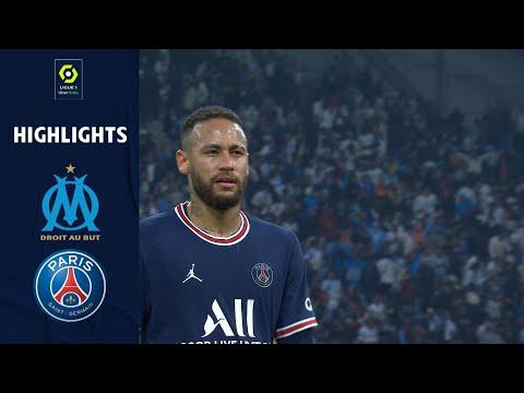 OLYMPIQUE DE MARSEILLE - PARIS SAINT-GERMAIN (0 - 0) - Highlights - (OM - PSG) / 2021-2022