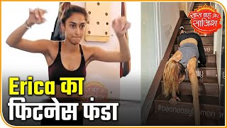 Erica Fernandes' Full Gym Workout: Actress Shares Tips To Remain Fit As Well | Saas Bahu Aur Saazish