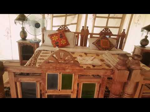 Sam Desert Camp Jaisalmer Tent View | Camping and Room video | Tent Video | Swiss Tent video |