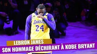 NBA Lakers : L'hommage déchirant de LeBron James à Kobe Bryant