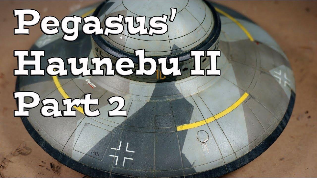 Building Pegasus Haunebu Ii German Flying Saucer Part 2 Youtube