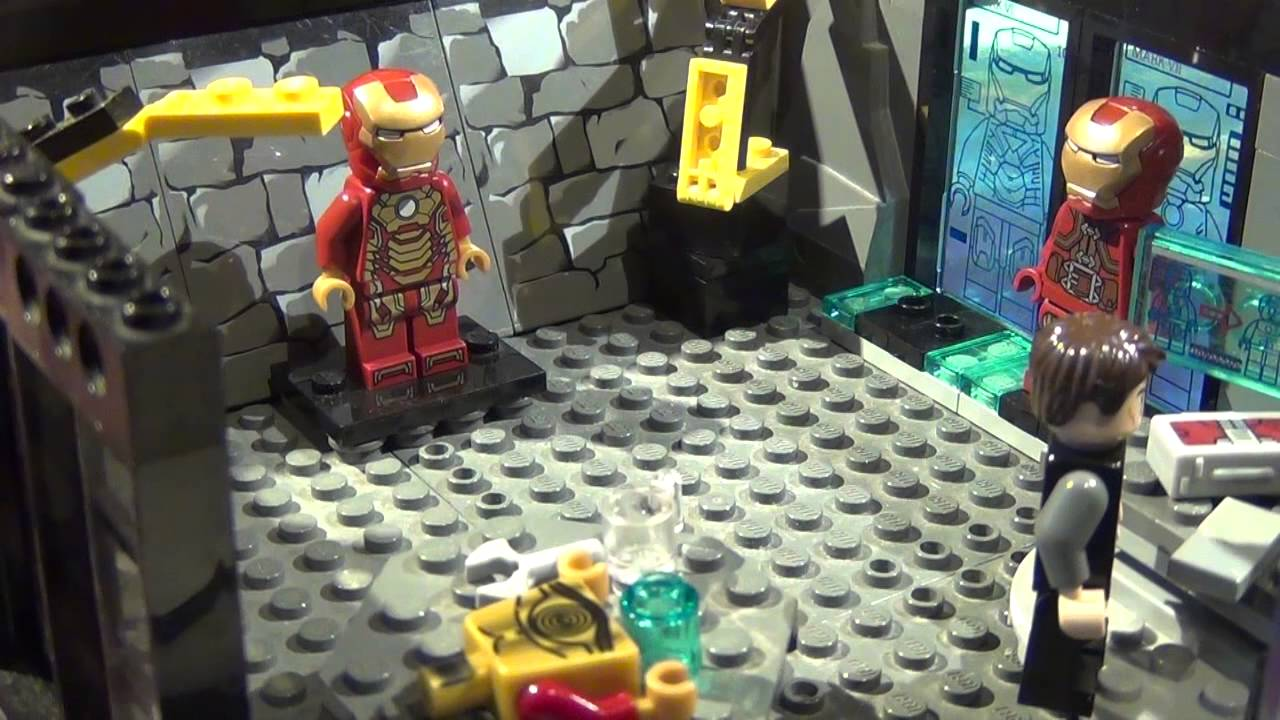 Lego Marvel Moc: Lego Marvel Superheroes Malibu Mansion MOC