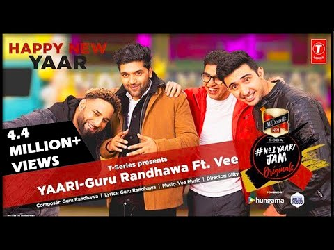 Yaari  Official Music Video  Guru Randhawa Ft. Vee