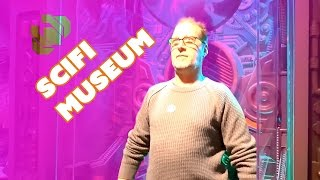 Exploring the Seattle SciFi Museum with Evil Ted