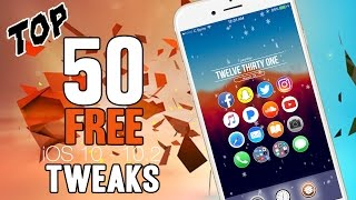NEW - Top 50 FREE Compatible iOS 10 – 10.2 Cydia Tweaks! - ALL iPhones, iPods & iPads