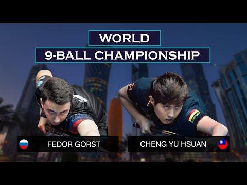 Fedor Gorst - Kevin (Yu Hsuan) Cheng | World 9-ball Championship 2019