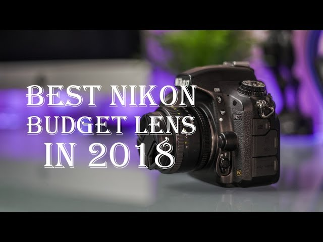 NIKON lens 50mm 1.8D Review- BEST BUDGET LENS?