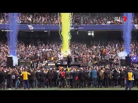 The Black Eyed Peas & Jimmy  Barnes -2018 AFL Grand Final Pre Game