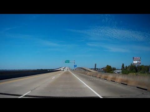 Road Trip #066 - I-55 North - from I-10, Laplace to I-12, Hammond, Louisiana