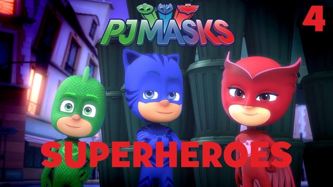 Download Superheroes Compilation! Part 4 | PJ Masks | Disney Junior