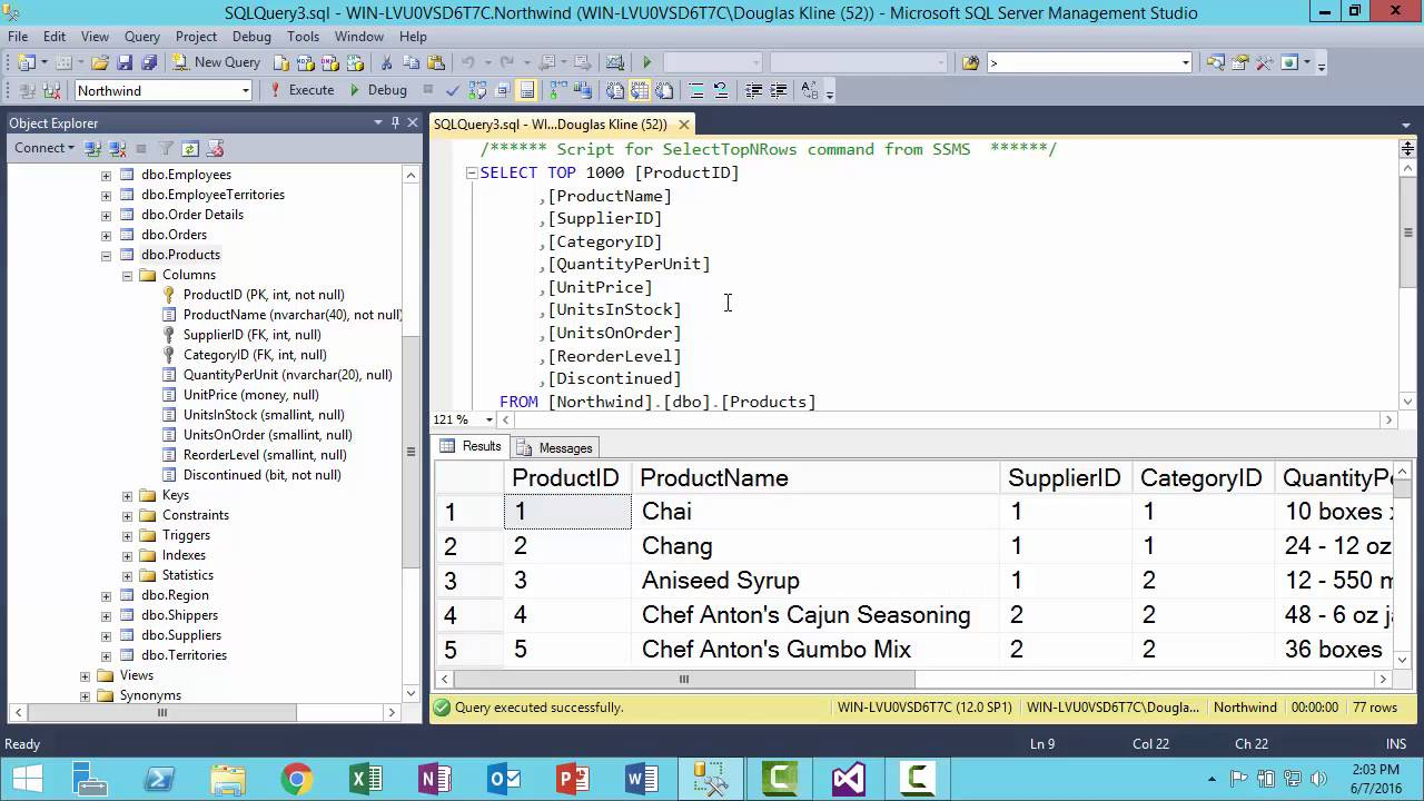 Sql Server Management Studio Intro Youtube