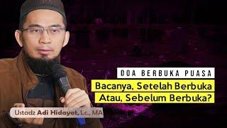 -------------- link kajian full ------------------ ustadz adi hidayat lc., ma. tema : menyambut bulan ramadhan https://bit.ly/2wzmm...