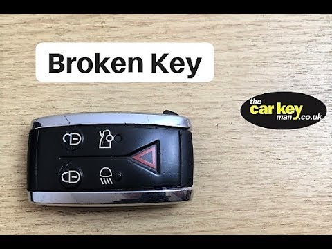 Jaguar XF Broken Key HOW TO FIX