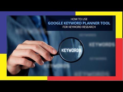 keyword planner - Bongkar kata kunci Google dengan menggunakan google keyword planner.
