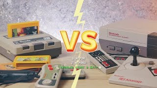 NES vs. Dendy: Сколько стоят 8 бит? / How much is 8-bit?