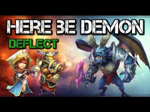 Castle Clash Here Be Demon Deflect Version!