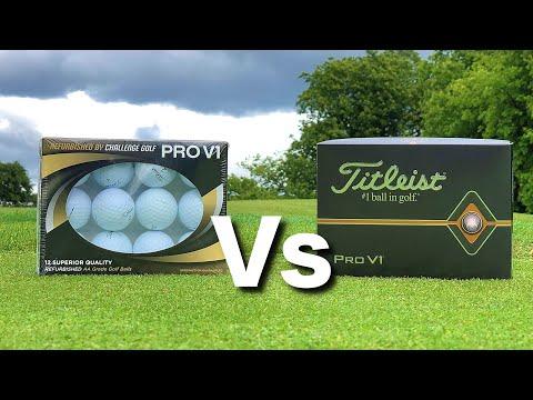 THE TRUTH: PRO V1 Refurbished Balls (£20) Vs PRO V1 Balls (£42)