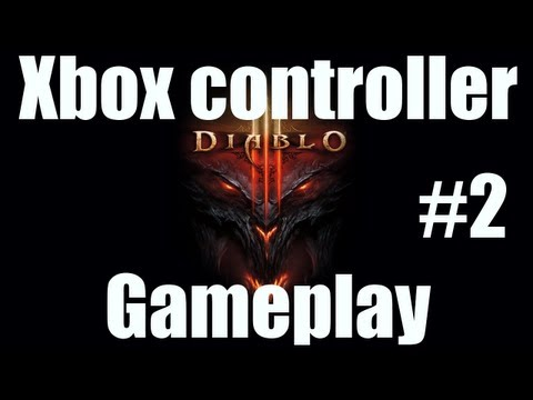 How to play Diablo 3 with an Xbox 360 controller Part 2/2: gameplay