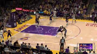 Los Angeles Lakers vs Phoenix Suns - Full Highlights | January 1, 2020 | 2019-20 NBA Season