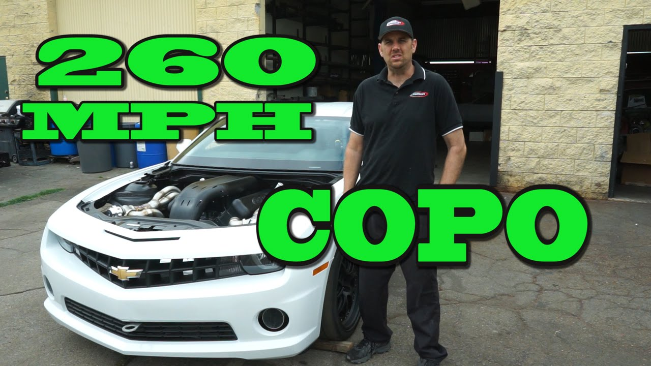 260 Mph Copo Camaro Texas Mile Race Car 2500 Hp 632 Nelson Racing