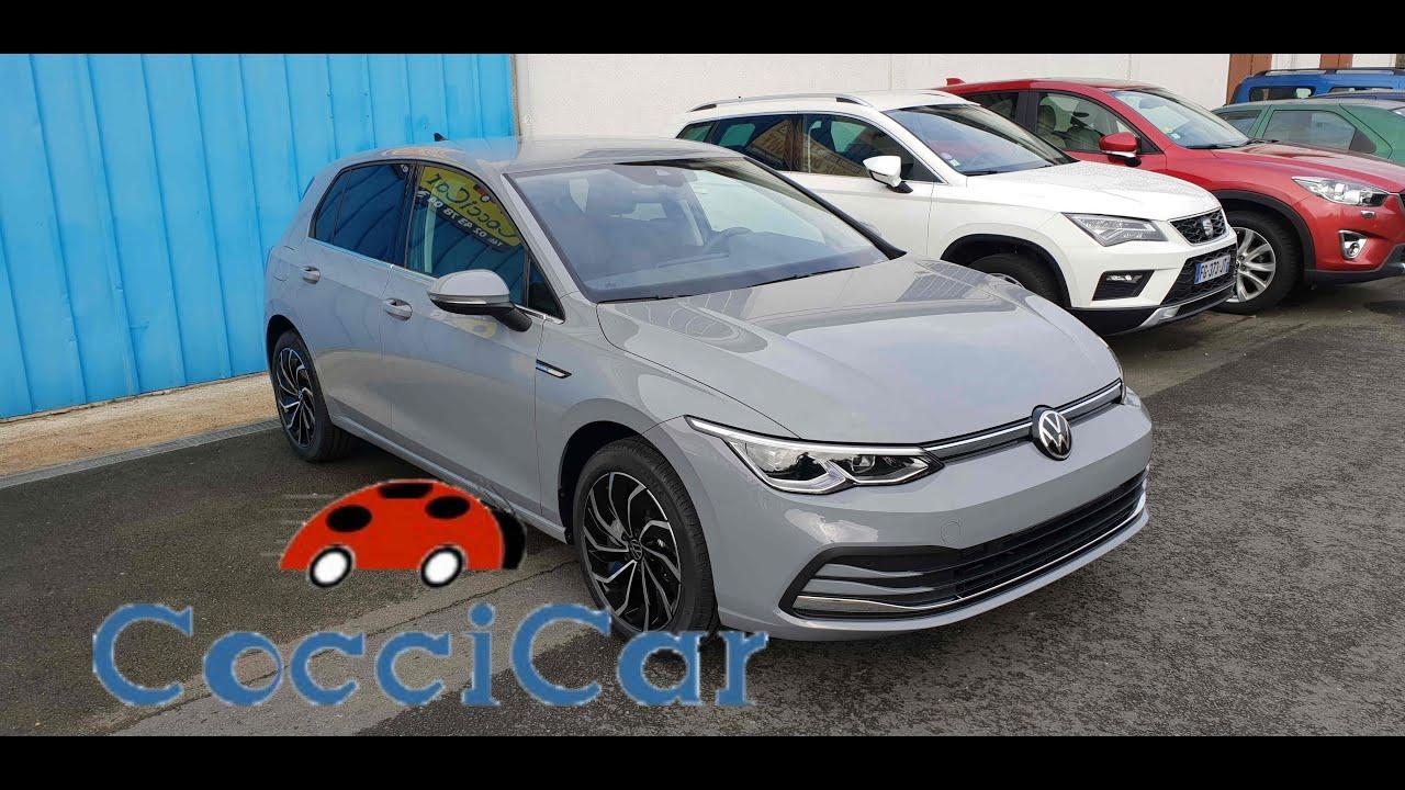 Coccicar Vw Golf 8 Style Gris Lunaire Jantes 17 Ventura Youtube