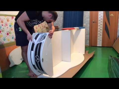 Кровать машинка своими руками чертежи и схемы