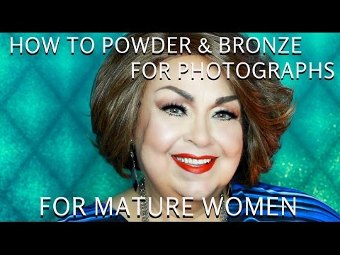 POWDER & BRONZER TIPS FOR WOMEN OVER 50