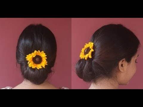 elegant-up-do-hair-tutorial|festive-hairstyle|floral-bun|beautybook