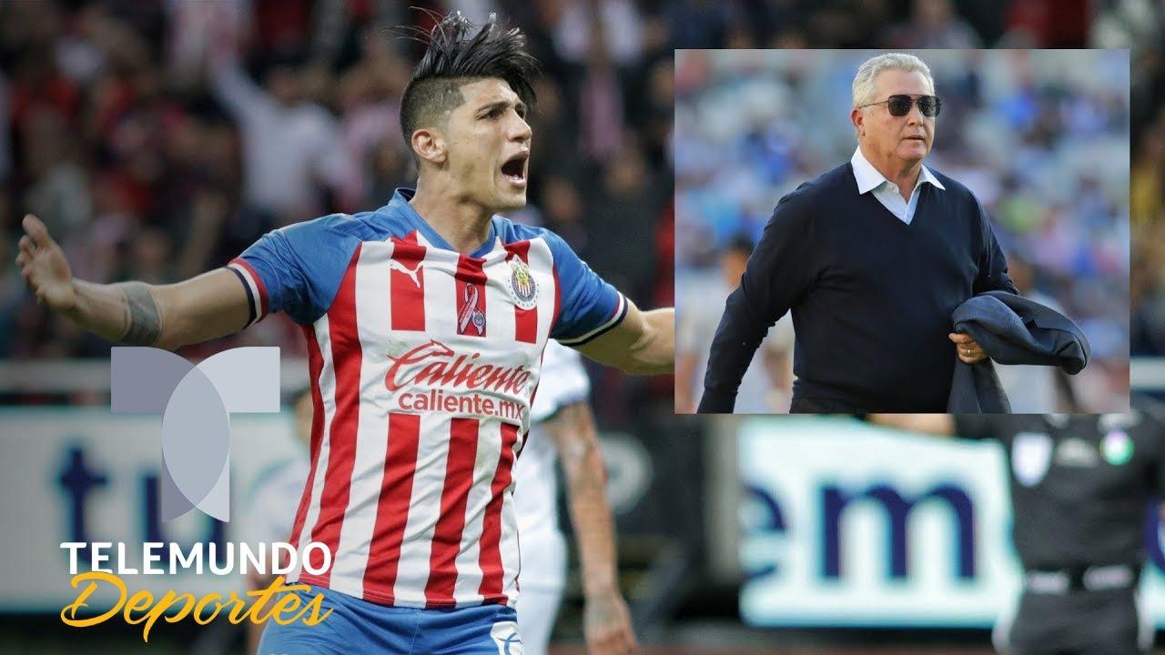 Lo que piensa Alan Pulido de la llegada de Vucetich a Chivas | Telemundo Deportes