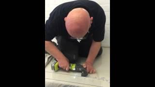 Cutting Acrylic, PlexiGlass, Perspex etc With a Multi-Tool