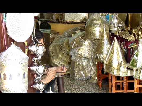 Metal worker in the Medina - The Sound that Made Rumi Dance