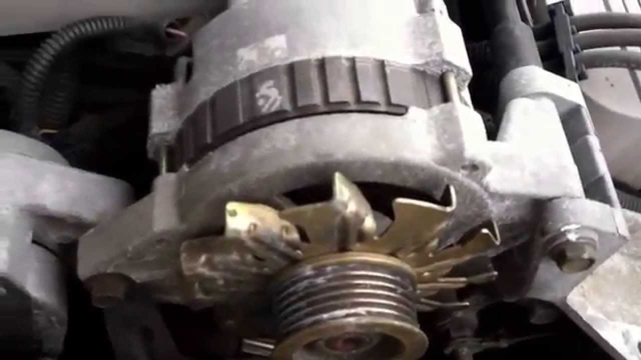 hight resolution of oldsmobile eighty eight 3800 alternator replacement