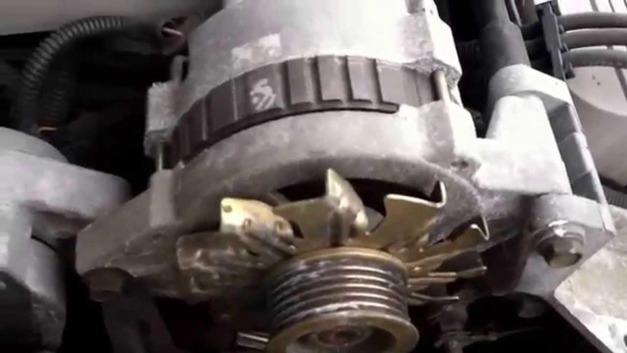 oldsmobile eighty eight 3800 alternator replacement [ 1280 x 720 Pixel ]