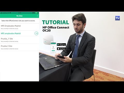 HP Office Connect OC20 - Tutorial