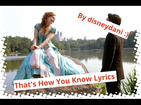 Enchanted Thats How You Know Lyrics