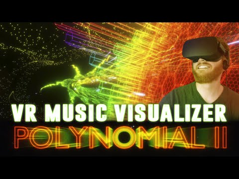 Polynomial 2: Trippy VR space combat music visualizer [HTC Vive]