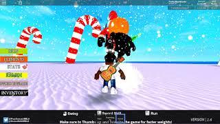 ROBLOX Sword Fighting Simulator - Santa VS Halloween Boss: Christmas Update! New Sword!
