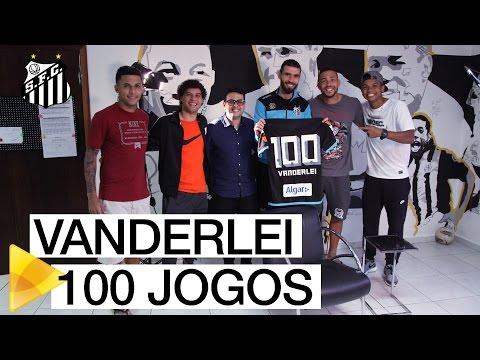 Na véspera de seu 100º jogo, Vanderlei cai em pegadinha da Santos TV