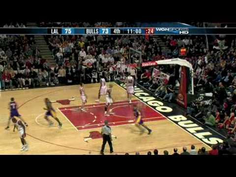 Shannon Brown dunk on Brad Miller (12/15/09)
